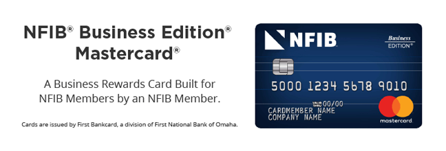 First Bankcard NFIB Member Benefit