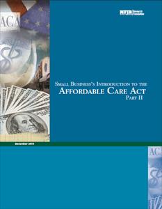 NFIB 2014 ACA Study