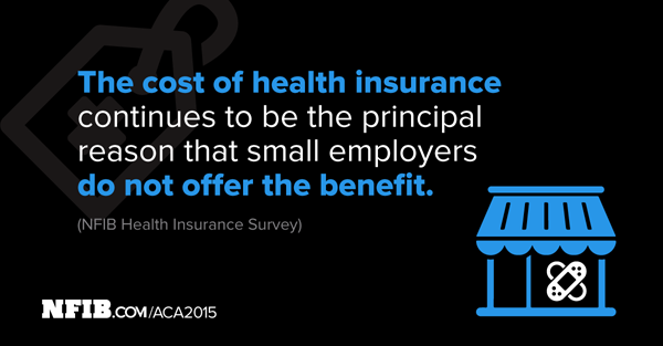 High costs are main reason small employers don't offer health insurance